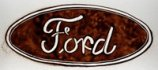 Logo Ford, sand drawing